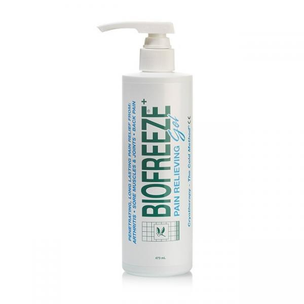 Biofreeze - Koudegel: Biofreeze bidon met pomp - 473 ml