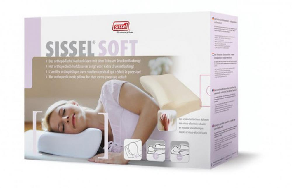 Sissel - Sissel - Orthopedic Pillow soft - medium + overtrek