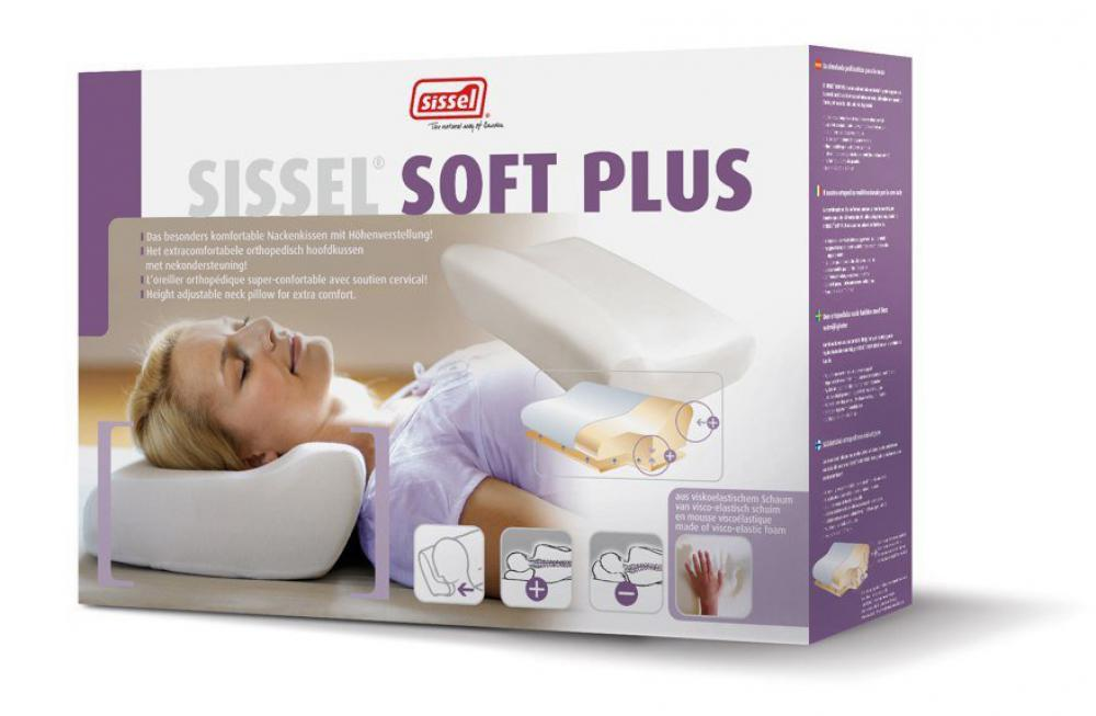 Sissel - Sissel - Orthopedic pillow soft plus + overtrek