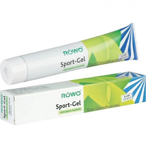 Rowo / Lavit - Rowo sportgel tube 100ml -- display 15st. (14+1 gratis)